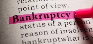 bankruptcy terminology